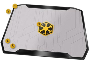 Amazon Com Star Wars The Old Republic Gaming Mouse Mat