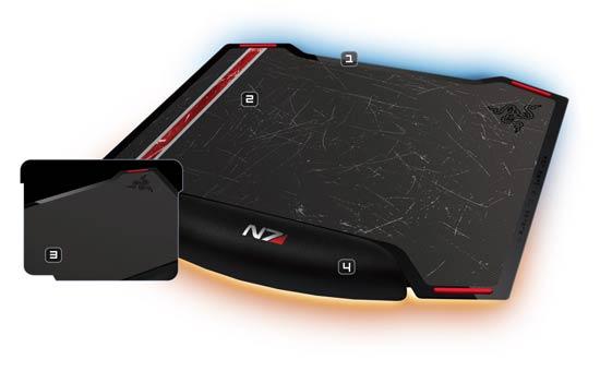 Amazon.com: Razer Mass Effects 3 Vespula Dual-Sided Gaming Mouse Mat (RZ02-00320300-R3M1 ...