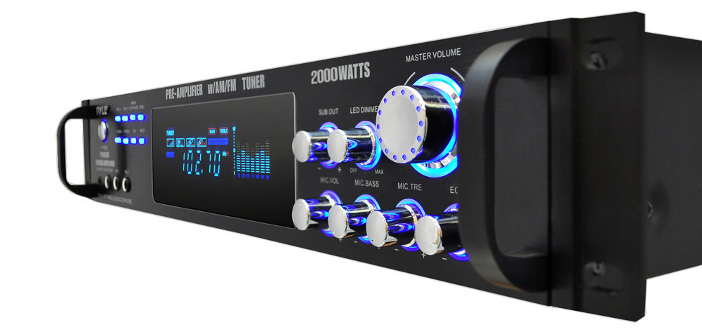 PylePro - P2001AT - Home and Office - Amplifiers - Receivers