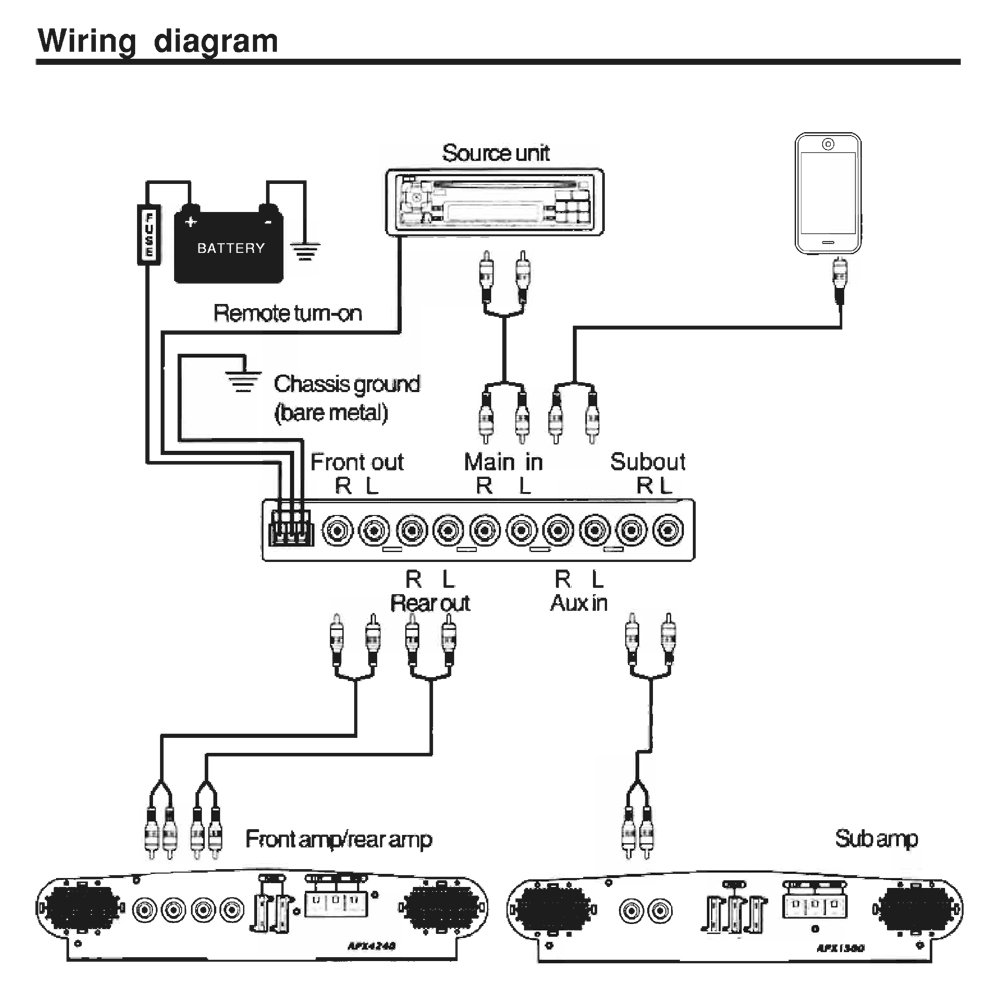 amazon.com: pyle ple780p single/double-din 7-band ... equalizer wiring diagram alpine equalizer wiring diagram