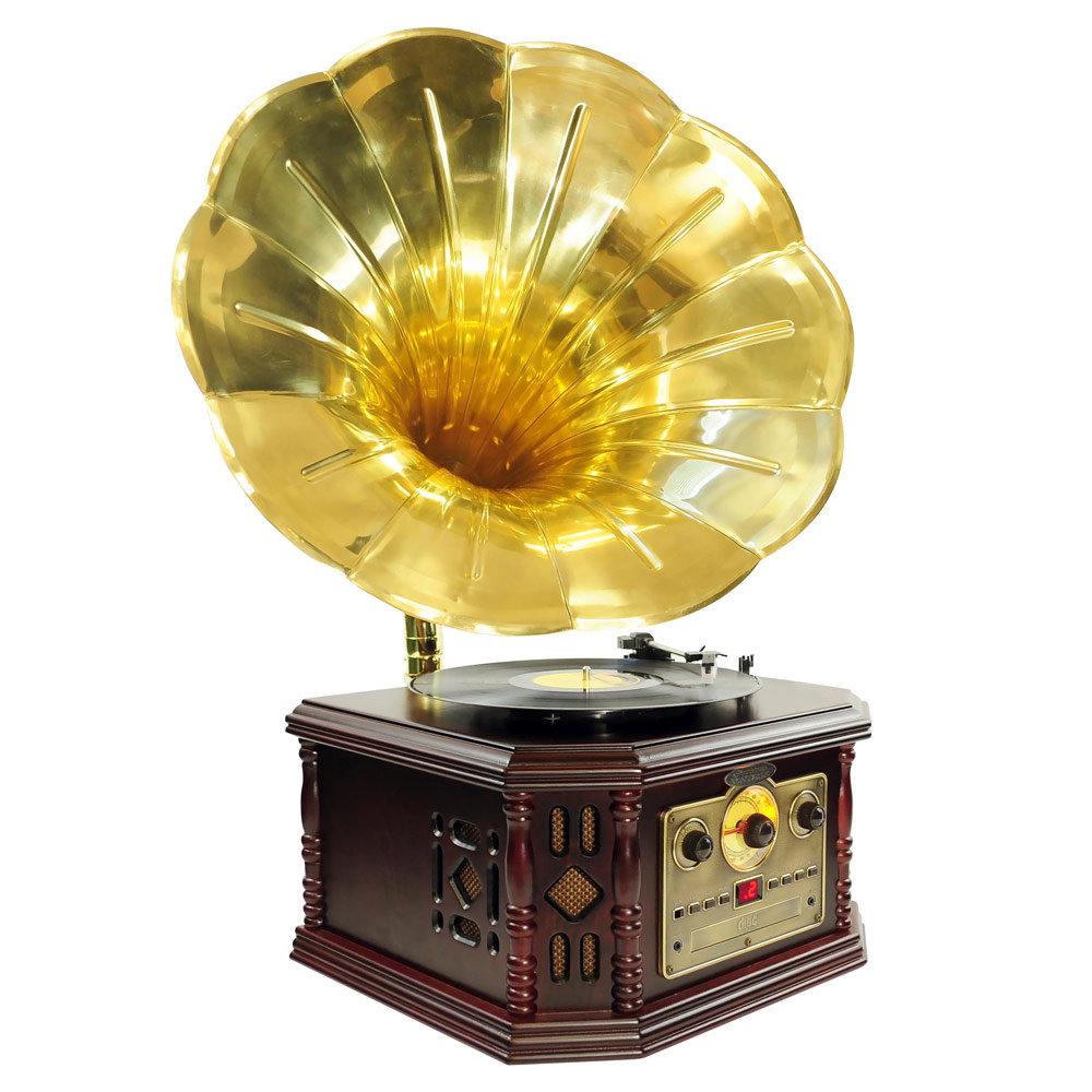 Amazon Com Pyle Home Pvnp4cd Vintage Phonograph Horn