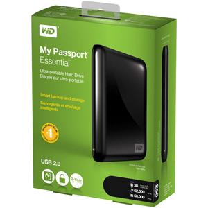 Amazon Com Wd My Passport Essential 500 Gb Usb 2 0