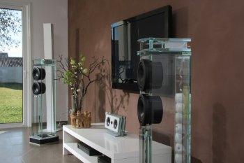 Amazon Com Waterfall Audio Quot Niagara Quot Diamond Glass Floor