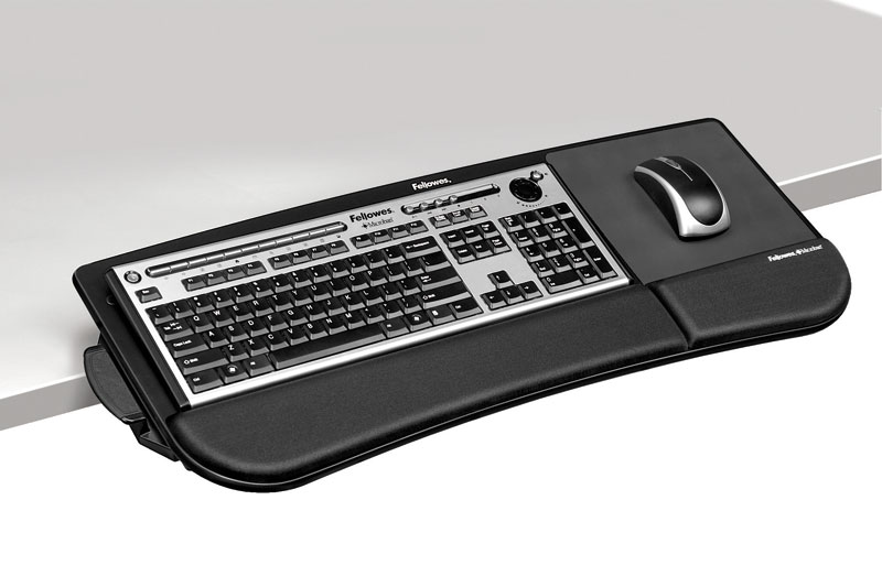 Amazon Com Fellowes Tilt N Slide Keyboard Manager