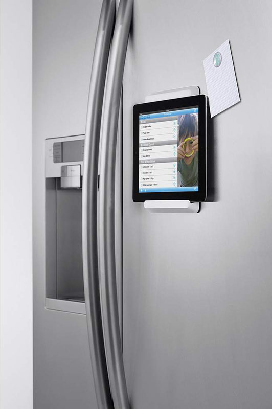 Amazon Com Belkin Fridge Mount For Ipad 2 3rd Generation And 4th Generation With