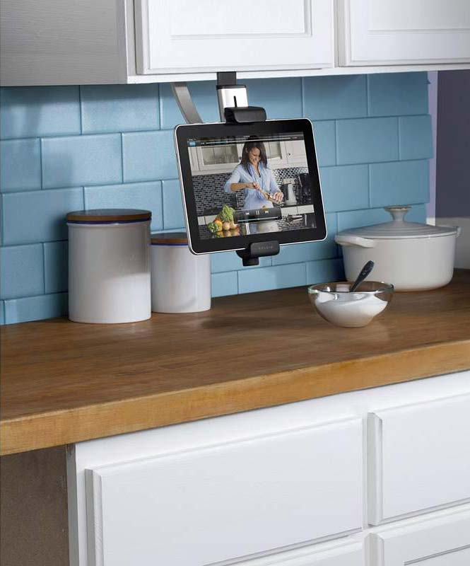 Mount Pc In Kitchen Cabinet