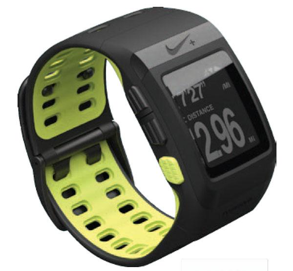 Nike+ Plus SportWatch GPS Tom Tom Running Watch Noir/Volt