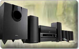Onkyo Ht S5500 7 1 Channel Home Theater Speaker Receiver Package In