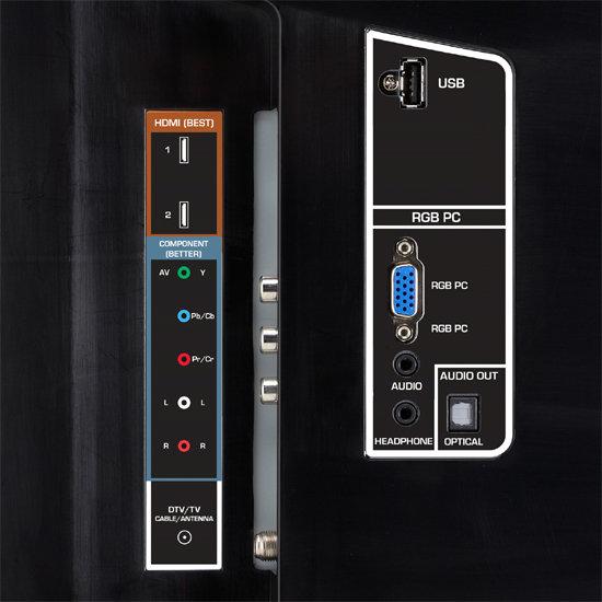 Amazon.com: VIZIO E320VP 32-Inch LED LCD HDTV, Black (2010