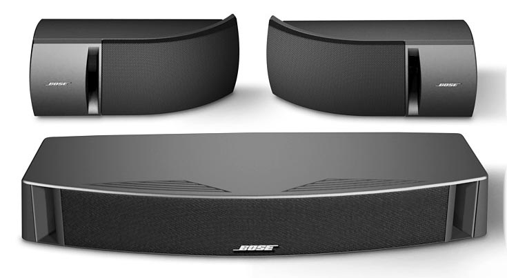 bose vcs 30 center surround speaker package. Black Bedroom Furniture Sets. Home Design Ideas