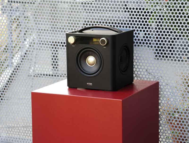 Amazon Com Tdk Life On Record 77000015410 Sound Cube