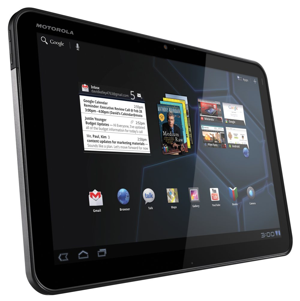 motorola xoom android tablet 10 1 inch 32gb wi fi tablet computers. Black Bedroom Furniture Sets. Home Design Ideas