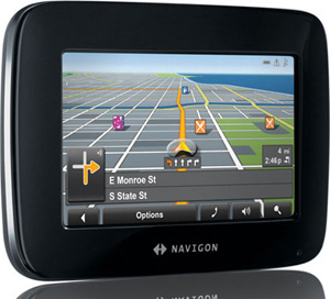 Navigon 2100 max 4 3 Inch Portable GPS Navigator with Text to Speech