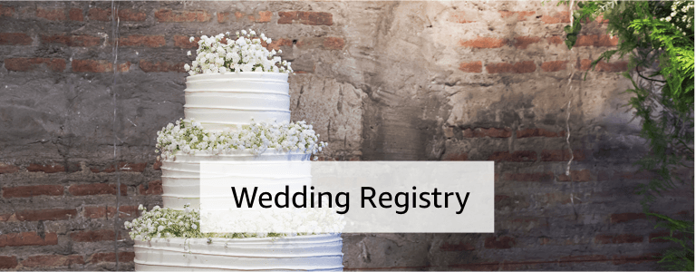 Wedding Gift Card Registry: Amazon.com: Gift Cards, Registries & Gifts