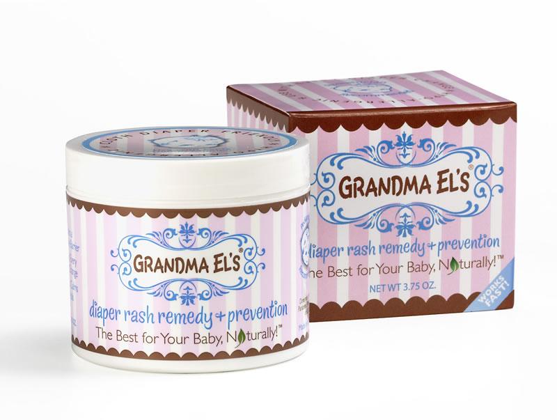 Amazon Com Grandma El S Diaper Rash Ointment Jar 3 75