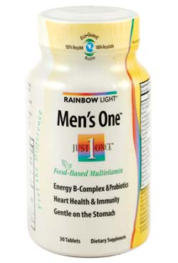 Amazon Com Rainbow Light Men S One Multivitamin 30