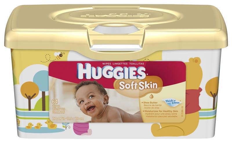 Amazon Com Huggies Soft Skin Baby Wipes Tub 512 Total