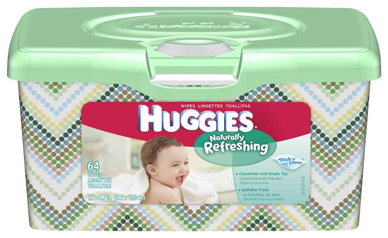 Amazon Com Huggies One Amp Done Refreshing Baby Wipes Tub