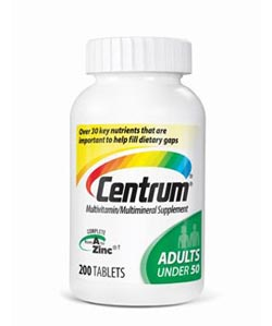 Centrum Adults Under 50 Multivitamin, 200 Count Product Shot