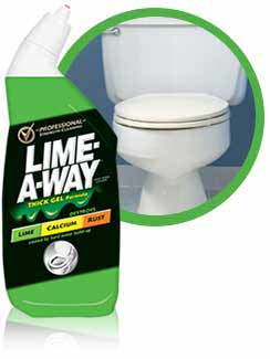 0 O Lime A Way Toilet Bowl Cleaner Liquid 24 Ounce