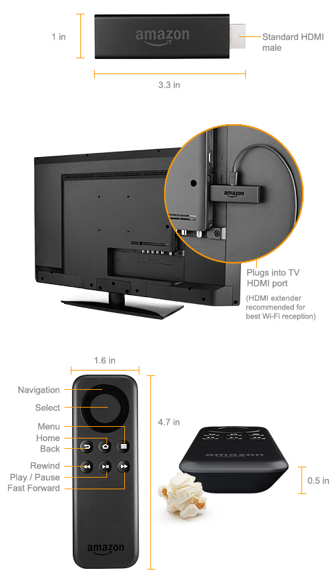 fire tv stick amazon official site streaming media player. Black Bedroom Furniture Sets. Home Design Ideas