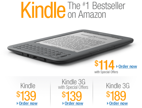 Kindle: The #1 Bestseller on Amazon