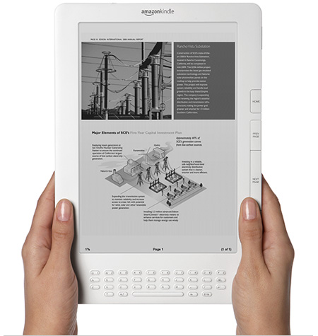Kindle DX Wireless Reading Device