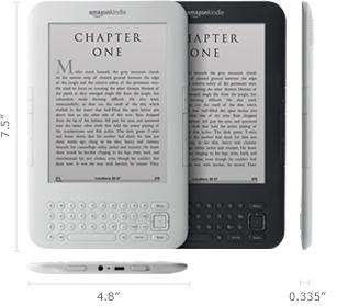 Amazon Kindle 3 - хочу!