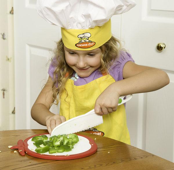 Child S First Kitchen Knife