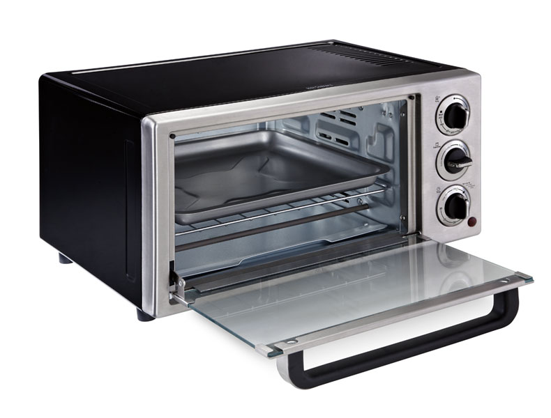 Amazon Com Oster Tssttvf815 6 Slice Toaster Oven Kitchen
