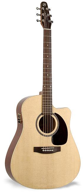 seagull coastline s6 slim cw spruce qi guitar musical instruments. Black Bedroom Furniture Sets. Home Design Ideas
