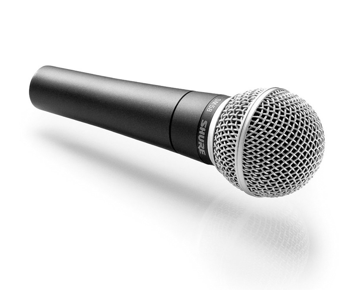 shure sm58 cn cardioid dynamic vocal microphone with cable musical instruments. Black Bedroom Furniture Sets. Home Design Ideas