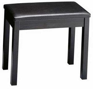Amazon Com Yamaha Bb1 Padded Wooden Piano Bench Black