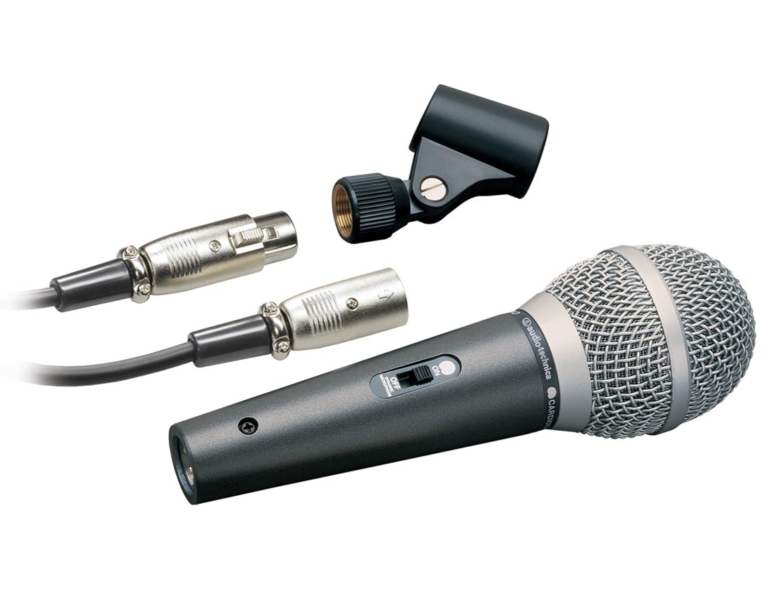 audio technica atr 1500 cardioid dynamic vocal instrument microphone musical. Black Bedroom Furniture Sets. Home Design Ideas