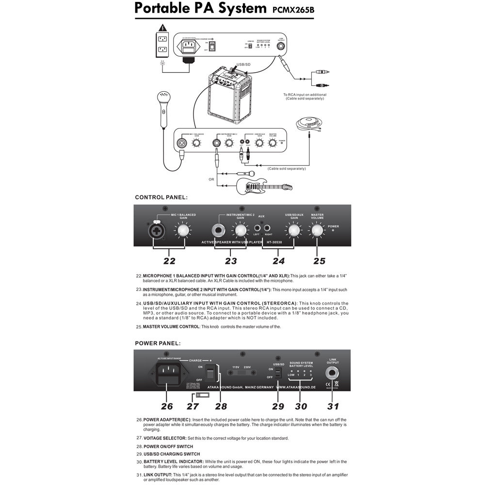 Pa Wiring Guide Great Installation Of Diagram Xlr Cable Battery Powered Sound Systems Free Speaker