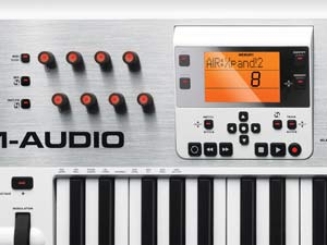 m audio axiom air 61 61 key usb midi keyboard controller with pro tools express and. Black Bedroom Furniture Sets. Home Design Ideas