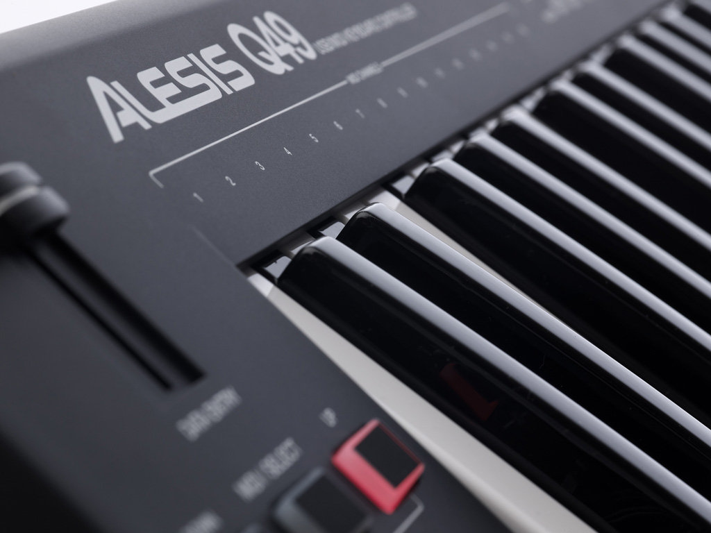 alesis q49 49 key usb midi keyboard controller musical instruments. Black Bedroom Furniture Sets. Home Design Ideas