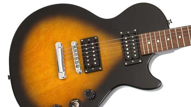 epiphone lp special ii les paul electric guitar ebony musical instruments. Black Bedroom Furniture Sets. Home Design Ideas