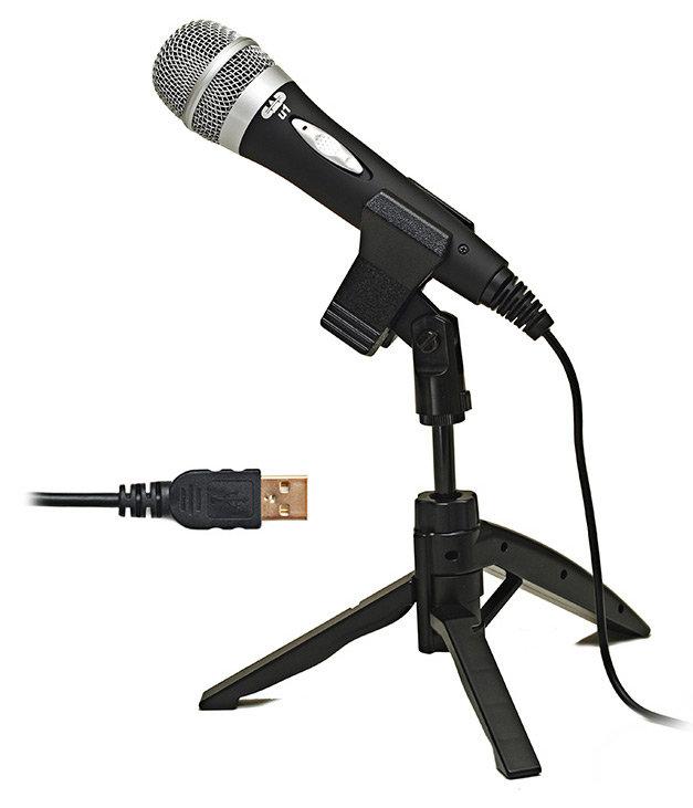 cad u1 usb dynamic recording microphone musical instruments. Black Bedroom Furniture Sets. Home Design Ideas