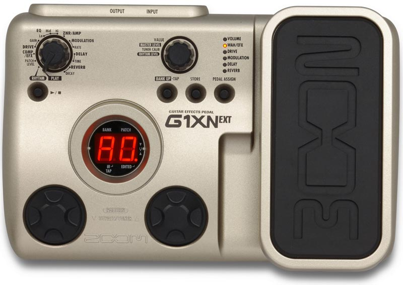 zoom g1xn guitar multi effects pedal musical instruments. Black Bedroom Furniture Sets. Home Design Ideas