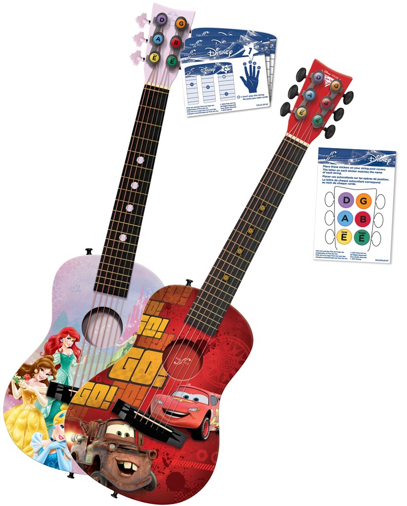 disney cars acoustic guitar by first act cr705 musical instruments. Black Bedroom Furniture Sets. Home Design Ideas