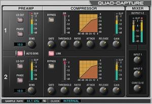 roland quadcapture audio interface instruments sale. Black Bedroom Furniture Sets. Home Design Ideas