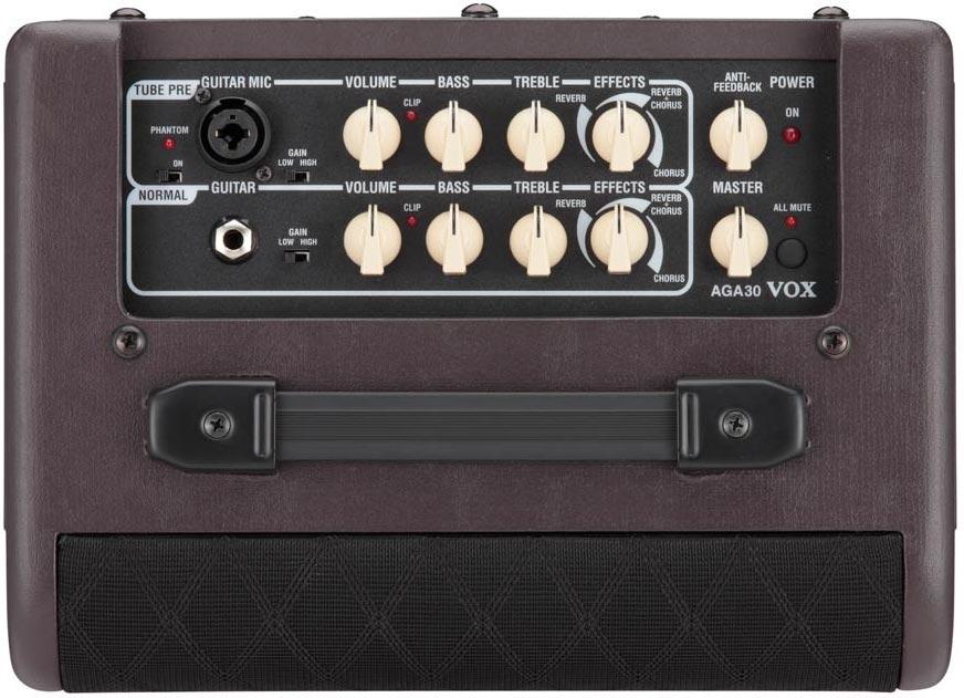 vox aga30 acoustic guitar amplifier musical instruments. Black Bedroom Furniture Sets. Home Design Ideas