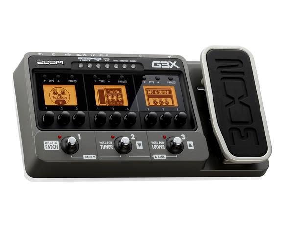 zoom g3x guitar effects and amplifier simulator with expression pedal musical. Black Bedroom Furniture Sets. Home Design Ideas