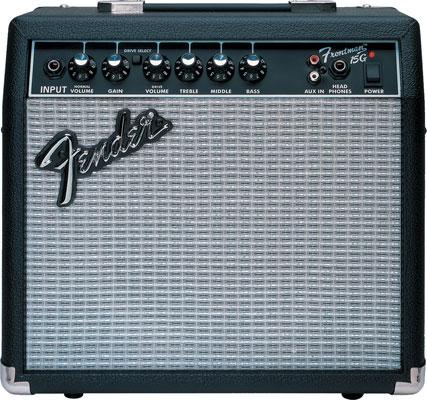 fender frontman 15g electric guitar amplifier musical instruments