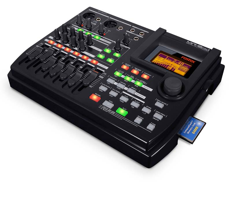 fostex mr8 mkii 8 track multitrack recorder musical instruments. Black Bedroom Furniture Sets. Home Design Ideas