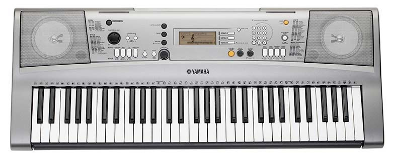 yamaha ypt 310 61 full size touch sensitive keys with 500 tones and 32 note. Black Bedroom Furniture Sets. Home Design Ideas