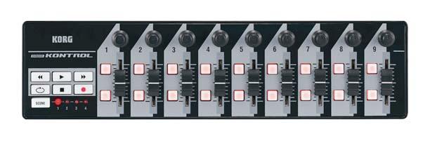 korg nanokontrol usb controller black musical instruments. Black Bedroom Furniture Sets. Home Design Ideas