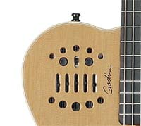 Amazon Com Godin Multiac Series Acs Guitar Natural Sg