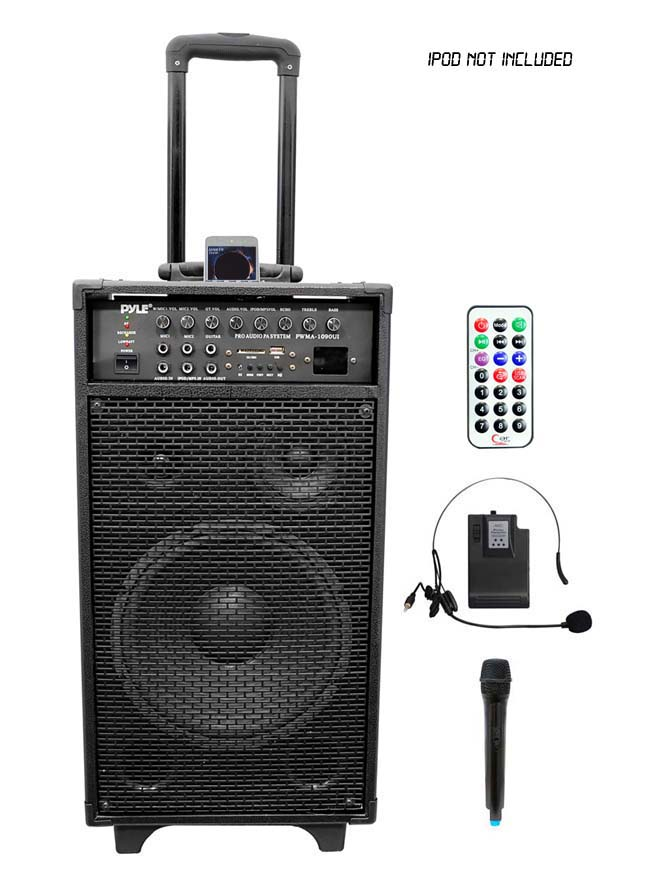 of power in small easily transportable package comes with wireless lavalier microphone bonus. Black Bedroom Furniture Sets. Home Design Ideas